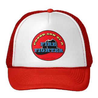 Proud Son of a Firefighter cap Trucker Hat