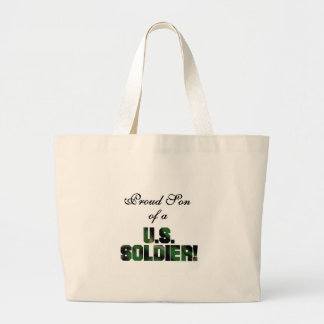 Proud Son of a US Soldier Tshirts and Gifts Canvas Bags