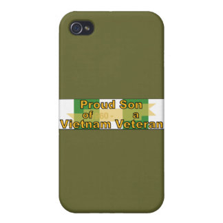 Proud Son Of A Vietnam Veteran iPhone 4/4S Covers