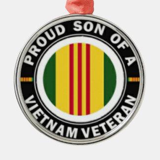 Proud Son of a Vietnam Veteran Ornament