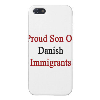 Proud Son Of Danish Immigrants iPhone SE/5/5s Cover