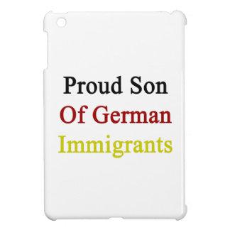 Proud Son Of German Immigrants iPad Mini Case