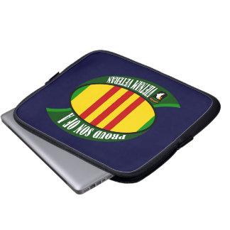 Proud Son - Vietnam Vet Laptop Computer Sleeve