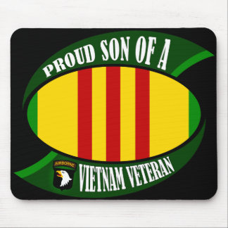 Proud Son - Vietnam Vet Mouse Pad