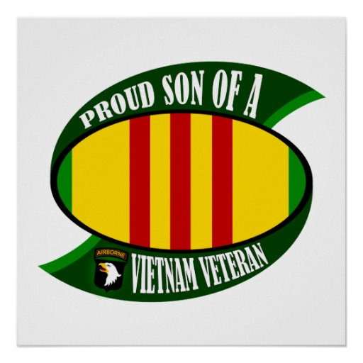 Proud Son - Vietnam Vet Poster