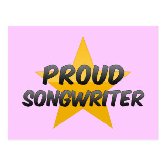 Proud Songwriter Post Card