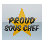 Proud Sous Chef Posters