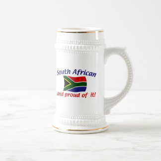 Proud South African Beer Stein