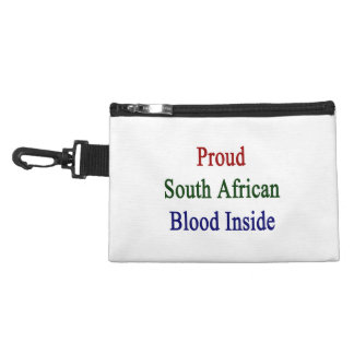Proud South African Blood Inside Accessory Bag