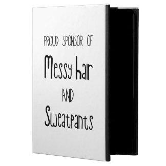 Proud Sponsor Of Messy Hair And Sweatpants Powis iPad Air 2 Case