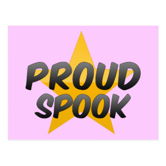 Proud Spook Post Cards