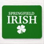 Proud SPRINGFIELD IRISH! St Patrick's Day Mouse Pad