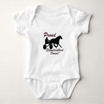 Proud Standardbred Owner Baby Bodysuit