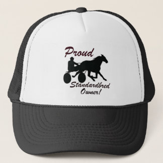 Proud Standardbred Owner Trucker Hat