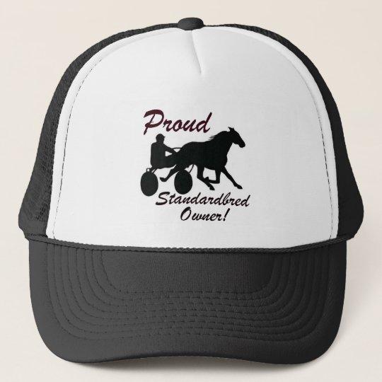 Proud Standardbred Owner Trucker Hat