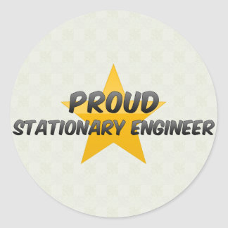 Proud Stationary Engineer Stickers