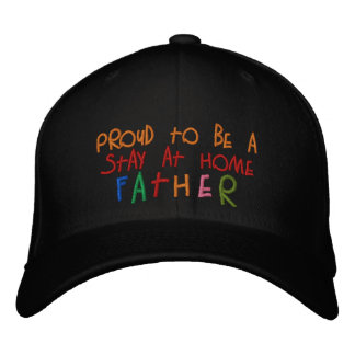 Proud Stay At Home Father Dark Basic Wool Hat Baseball Cap