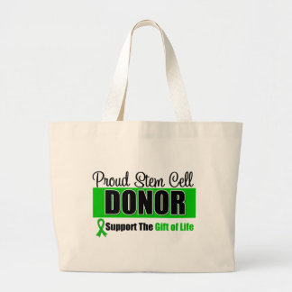 Proud Stem Cell Donor Canvas Bags