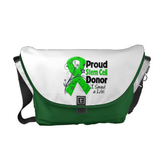 Proud Stem Cell Donor - I Saved a Life Commuter Bags