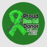 Proud Stem Cell Donor - I Saved a Life Sticker