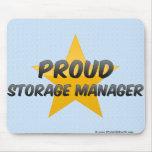 Proud Storage Manager Mousepads