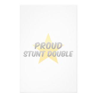 Proud Stunt Double Custom Stationery