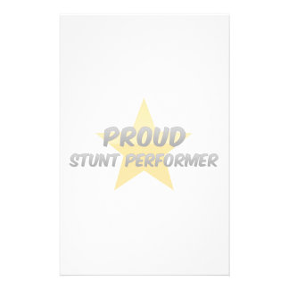 Proud Stunt Performer Personalized Stationery