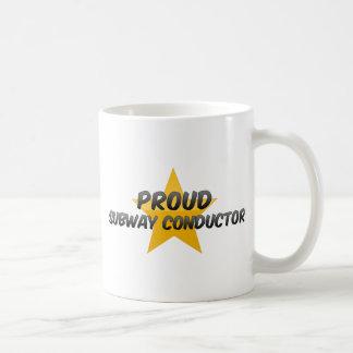 Proud Subway Conductor Coffee Mug