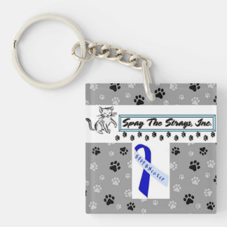 Proud Supporter Key Chain