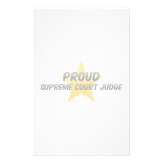 Proud Supreme Court Judge Stationery Paper