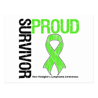 Proud Survivor - Non Hodgkins Lymphoma Postcard