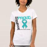 Proud Survivor - Ovarian Cancer T Shirt