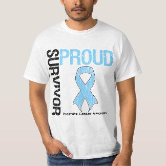 Proud Survivor - Prostate Cancer Tee Shirt
