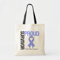 Proud Survivor - Stomach Cancer Tote Bag