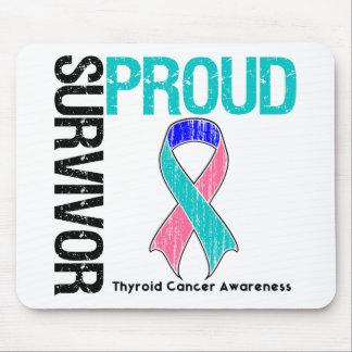 Proud Survivor - Thyroid Cancer Mouse Pad