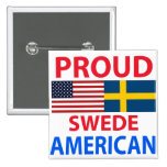 Proud Swede American Button