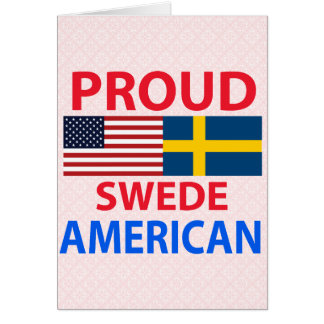 Proud Swede American Greeting Cards