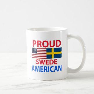 Proud Swede American Classic White Coffee Mug