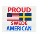 Proud Swede American Postcard