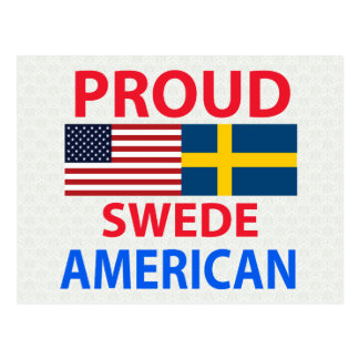 Proud Swede American Post Card