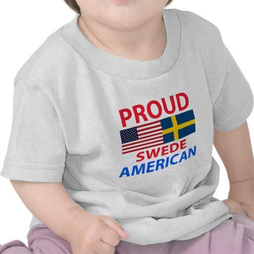 Proud Swede American Tshirt