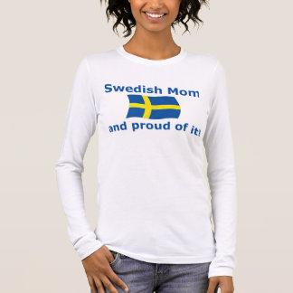 Proud Swedish Mom Long Sleeve T-Shirt