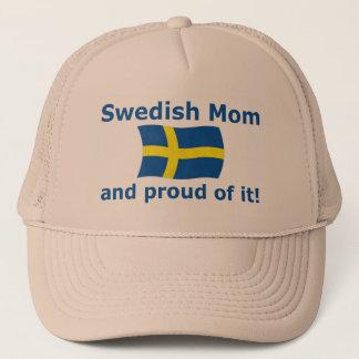 Proud Swedish Mom Trucker Hat