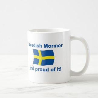 Proud Swedish Mormor (Grandmother) Mugs