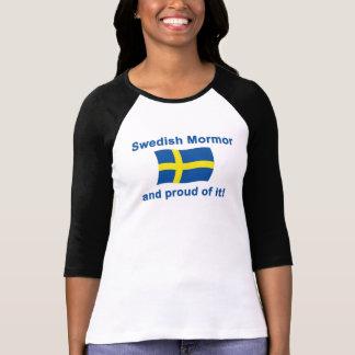 Proud Swedish Mormor (Grandmother) Tshirts
