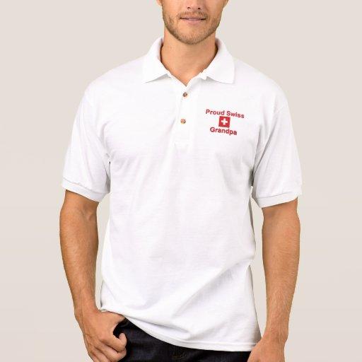 Proud Swiss Grandpa Polo Shirt