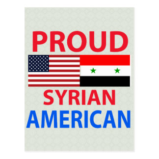 Proud Syrian American Postcards