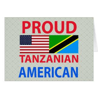 Proud Tanzanian American Cards