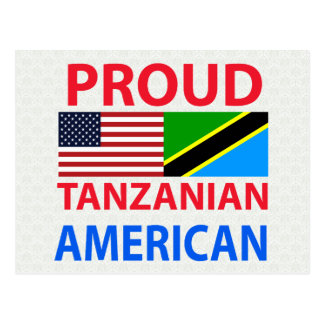 Proud Tanzanian American Post Card