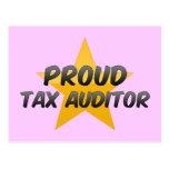 Proud Tax Auditor Postcard